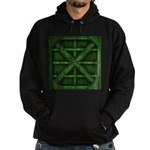 Rusty Shipping Container - green Hoodie