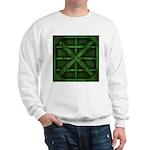 Rusty Shipping Container - green Sweatshirt