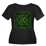 Rusty Shipping Container - green Plus Size T-Shirt