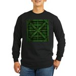 Rusty Shipping Container - green Long Sleeve T-Shi