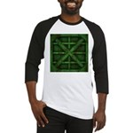 Rusty Shipping Container - green Baseball Jersey