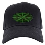 Rusty Shipping Container - green Baseball Hat