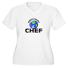 World's Coolest Chef Plus Size T-Shirt