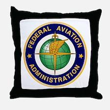 FAA logo Throw Pillow