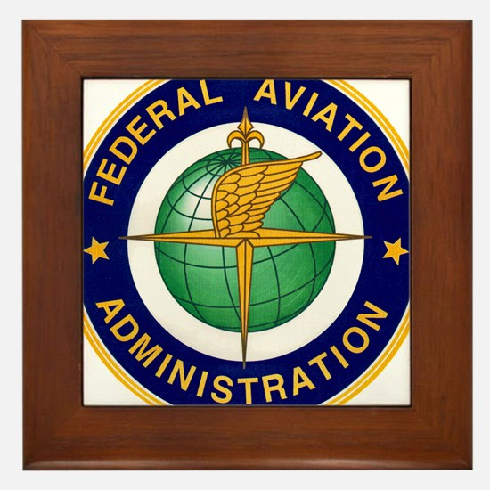 FAA logo Framed Tile