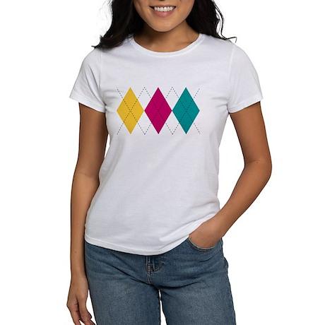 Bright Argyle Women's T-Shirt