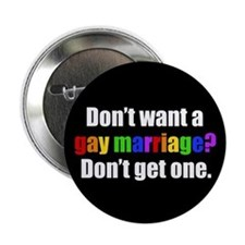 "Gay Marriage 2.25"" Button"