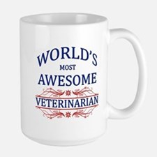 World's Most Awesome Veterinarian Mug