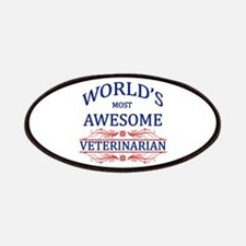 World's Most Awesome Veterinarian Patches