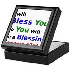 I will Bless You so You will be a Blessing Keepsak