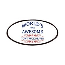 World's Most Awesome Tow Truck Driver Patches