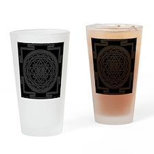 Sri Yantra Drinking Glass