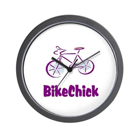 BikeChick Logo Wall Clock