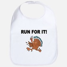 RUN FOR IT!-WITH TURKEY Bib