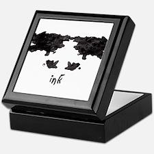 Ink Blot 3 Keepsake Box