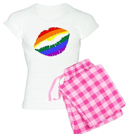 Rainbow Lips Pajamas