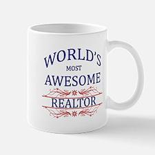 World's Most Awesome Realtor Mug