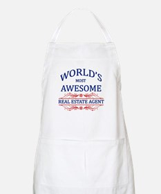 World's Most Awesome Real Estate Agent Apron