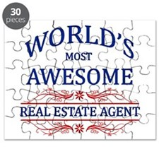 World's Most Awesome Real Estate Agent Puzzle