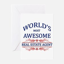 World's Most Awesome Real Estate Agent Greeting Ca