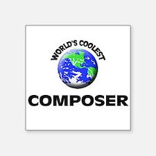 World's Coolest Composer Sticker