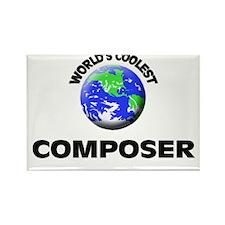 World's Coolest Composer Rectangle Magnet