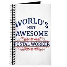 World's Most Awesome Postal Worker Journal