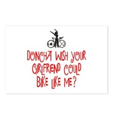 Bike Chick Doncha Postcards (Package of 8)