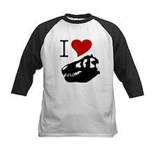 I Love Fossils Kids Shirt
