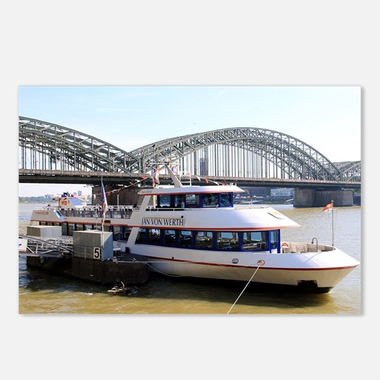Hohenzollern Bridge, Colo Postcards (Package of 8)