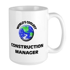 World's Coolest Construction Manager Mug