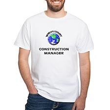 World's Coolest Construction Manager T-Shirt