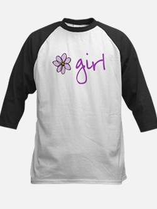 Flower Girl - Purple Baseball Jersey