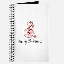 BikeChick Merry Christmas Journal