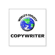 World's Coolest Copywriter Sticker