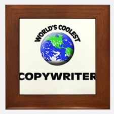 World's Coolest Copywriter Framed Tile