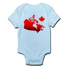 Canada Map Body Suit