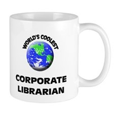 World's Coolest Corporate Librarian Mug