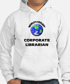 World's Coolest Corporate Librarian Hoodie