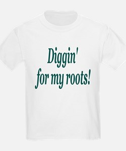Diggin' for my roots Kids T-Shirt