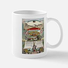 Masonic Diploma Mug
