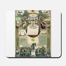 Masonic Register Mousepad