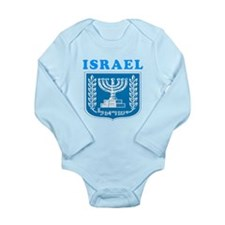 Israel Coat Of Arms Designs Long Sleeve Infant Bod
