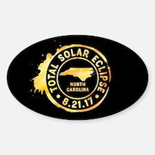 Eclipse N. Carolina Sticker (Oval)