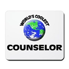 World's Coolest Counselor Mousepad