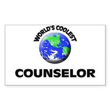 World's Coolest Counselor Decal