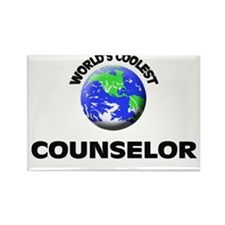 World's Coolest Counselor Rectangle Magnet