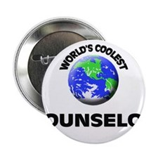 """World's Coolest Counselor 2.25"""" Button"""