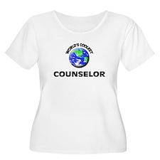World's Coolest Counselor Plus Size T-Shirt
