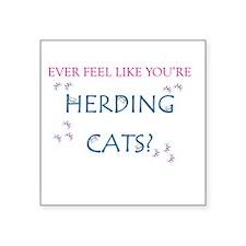 Herding Cats Sticker